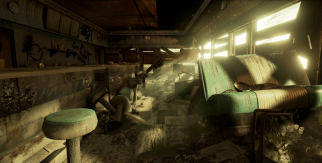 Abandoned Diner by HTannerHartman