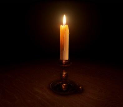 Brass Candlestick - Laith Ahmad