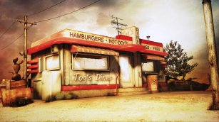 To's Diner by Togman-Studio