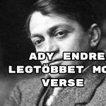 Ady Endre legtöbbet mondó verse