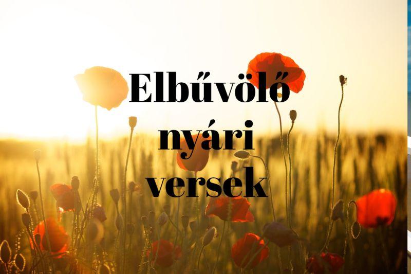 nyári versek idézetek Elbűvölő nyári versek   Meglepetesvers.hu
