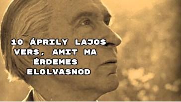 10 Áprily Lajos vers, amit ma érdemes elolvasnod