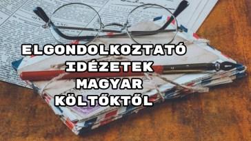 Elgondolkoztató idézetek magyar költőktől