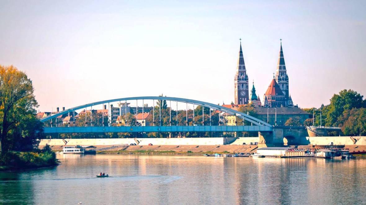 Hajós élményséta Szegeden - Meglepkék
