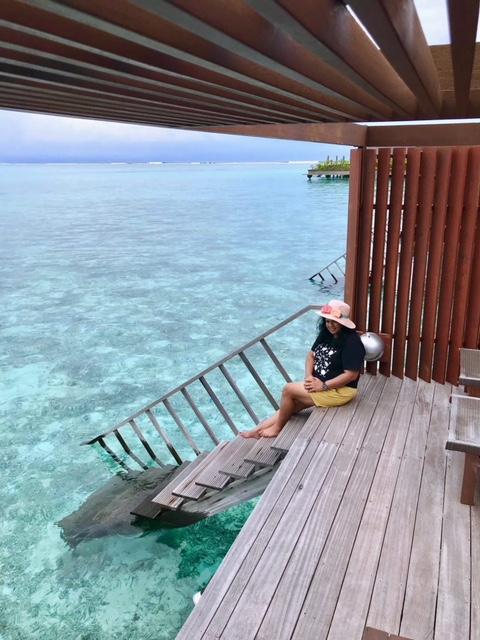 Maldives Resort Water Villa