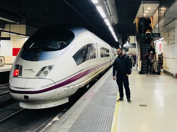 Renfe super fast train!