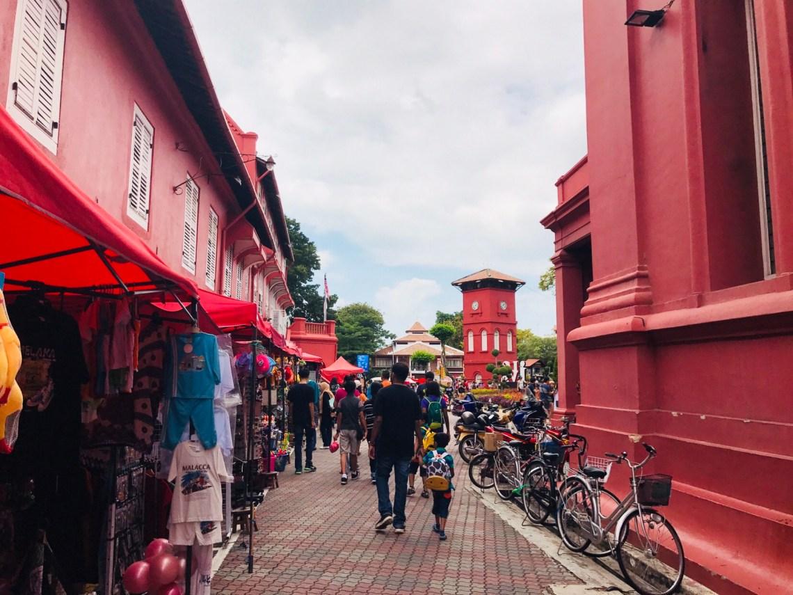 The streets of Melaka