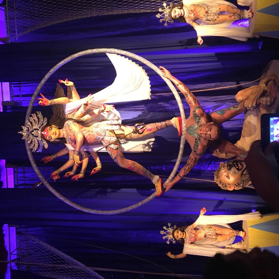 The Aeroibatic Durga idol