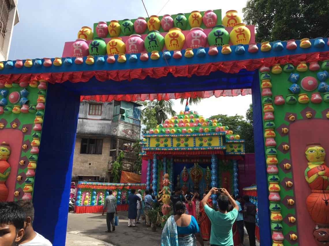 Durga Puja Panfal