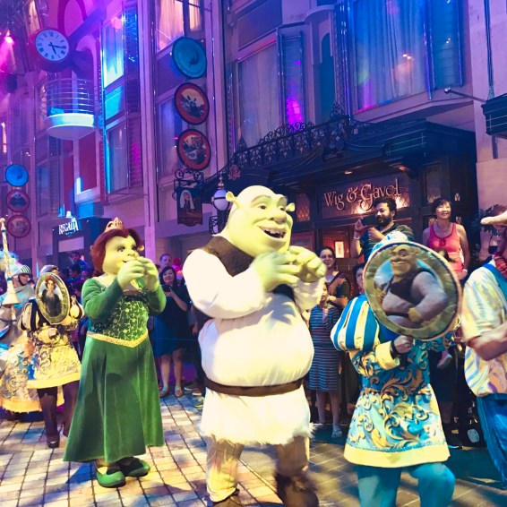 Shrek and his princess Fiona