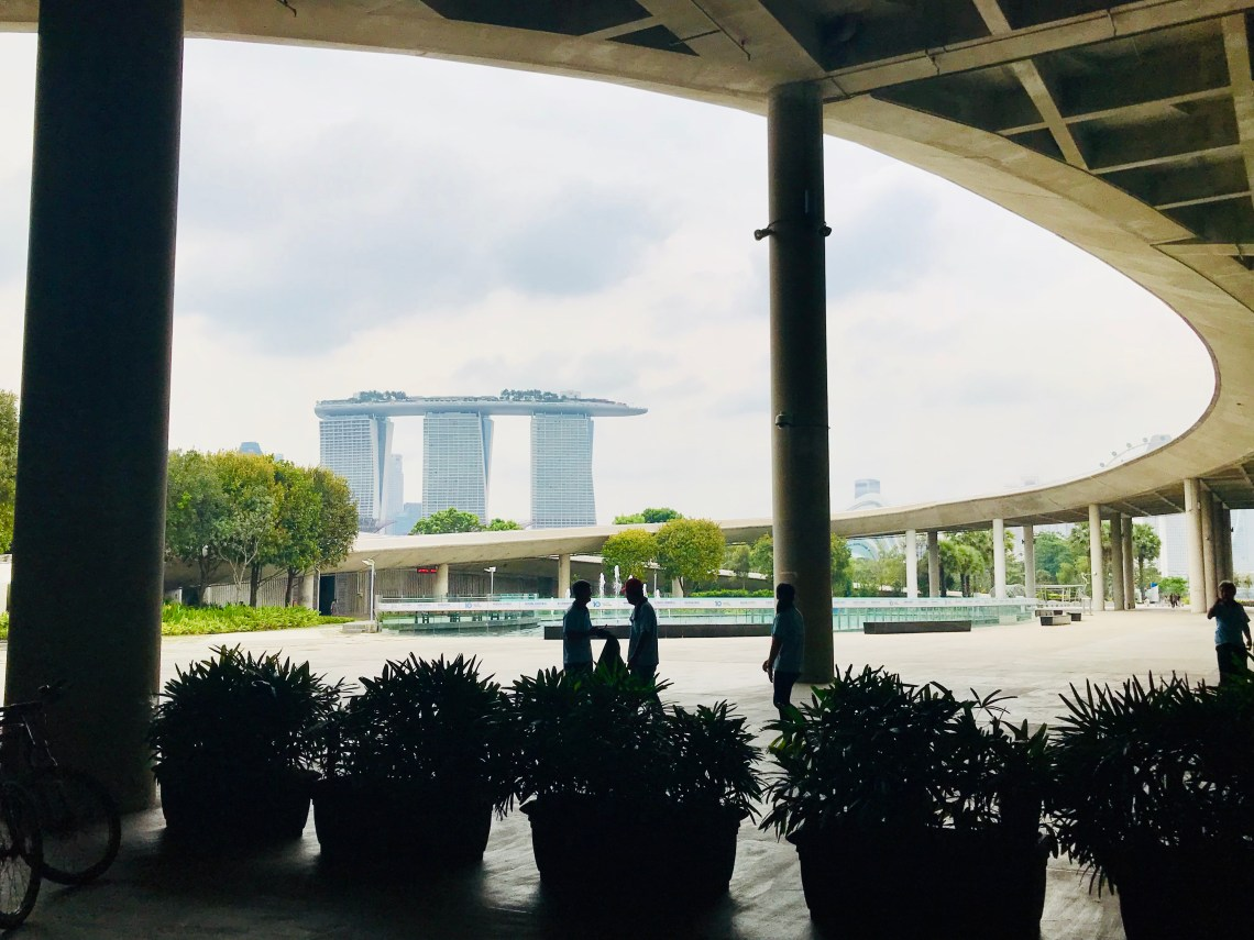 Singapore Marina BArrage pic 9