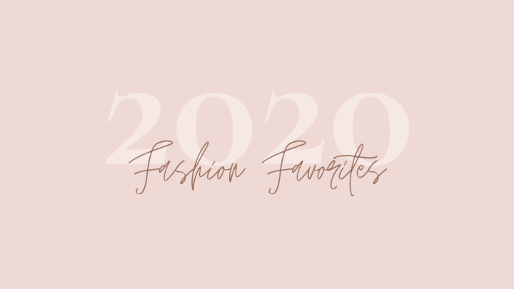 Top 10 fashion favorites of 2020