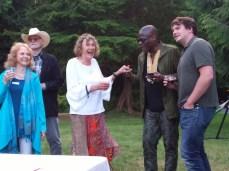 Karen & Michael McInerney meet Joe Buck from NYC and Thomas Bixler from Portland
