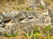 Caves from hillside