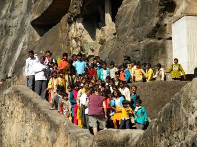 We had a wonderful time with the school children. They sang for us….