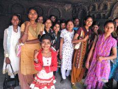 DSCN5360 Visitors listening to the children singing