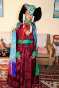 Ladakhi wedding attire