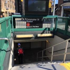 My subway stop!