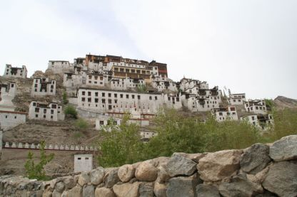 Thiksey Monastery east of Leh, 11,800 ft., in the Indus Valley