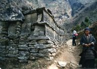 Mani wall, Everest Base Camp trek