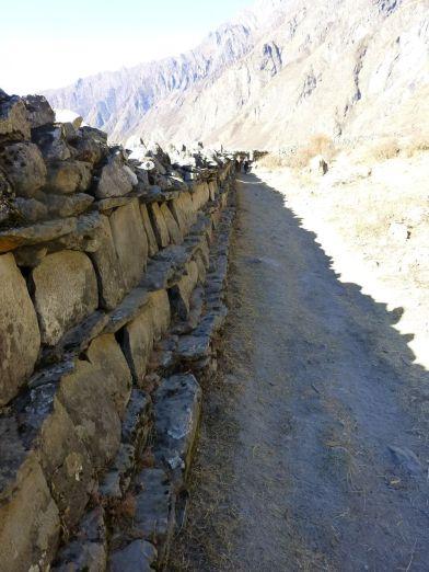 A very long mani wall