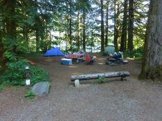 Baker Lake camp