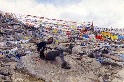 Drolma La (18,600 ft.) on Mt. Kailash