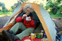 Tea at our first campsite