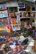 Back in Dar es Salaam. A local market.