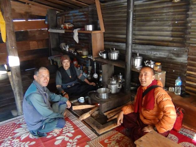 melamchi guesthouse kitchen
