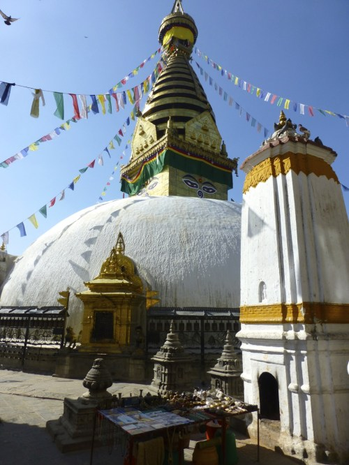 Majestic Swayambhunath, the monkey temple....