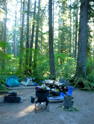 Just another pretty campsite!