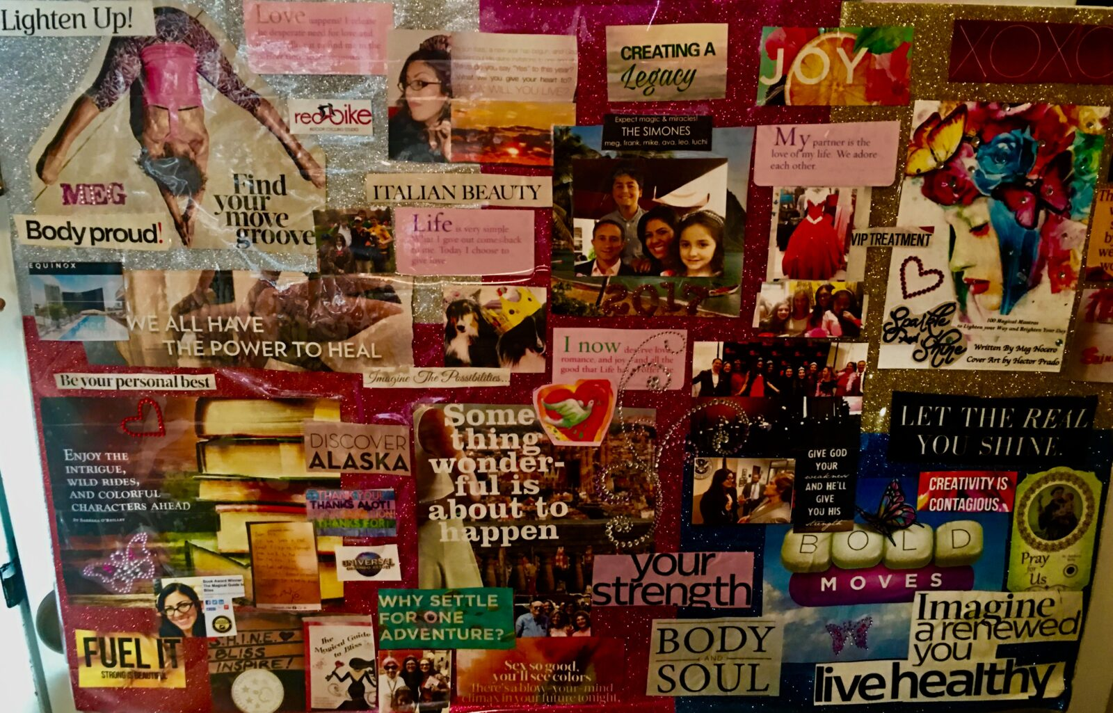 It is time to get your house in order, vision boards are a tool to help you commit to take the next step to your personal freedom!