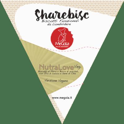 Megola ShareBisc Biscotti Funzionali Per Cani NutraLove Veg+ Vegano