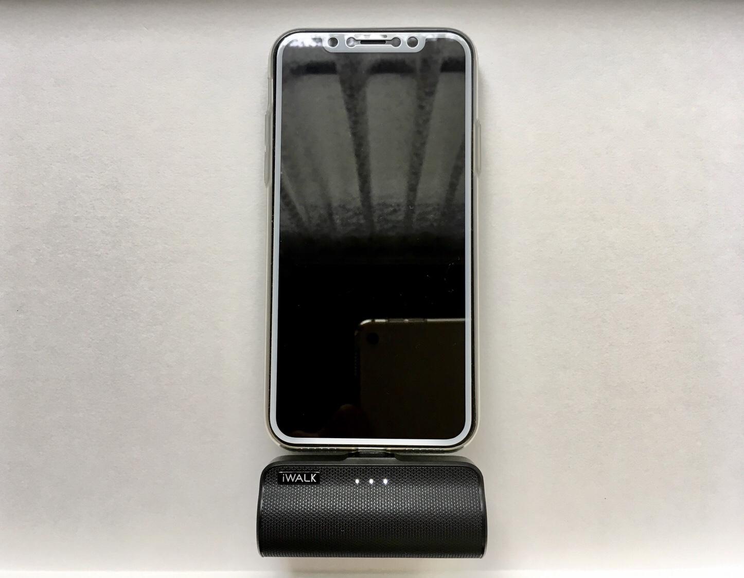 iWALKでiPhoneの充電方法