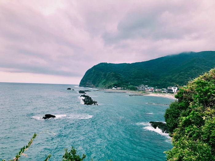 西伊豆 旅人岬からの眺め