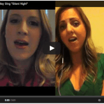 """Silent Night"" – Sung by Meg & Shelley!"