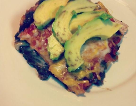 Insta-Food: Layered Tortilla Casserole