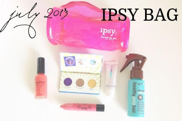 July 2013 Ipsy Bag