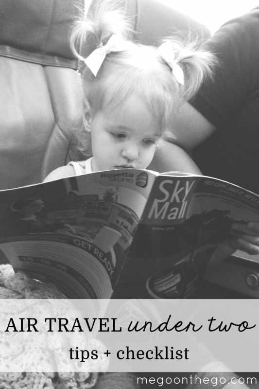 air travel under 2