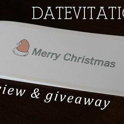 Datevitation Review & Giveaway