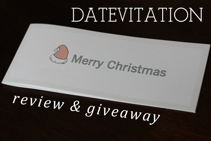 Datevitation Review + Giveaway