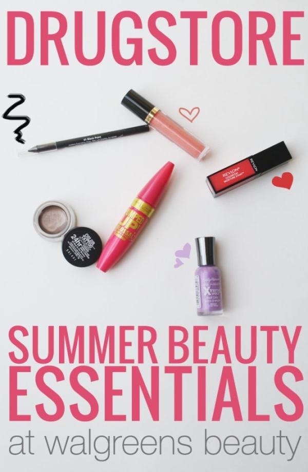 Drugstore Summer Beauty Essentials #WalgreensBeauty #CollectiveBias #shop