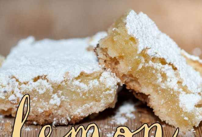 Grandma Fisher's Lemon Bars Adapted By Anne