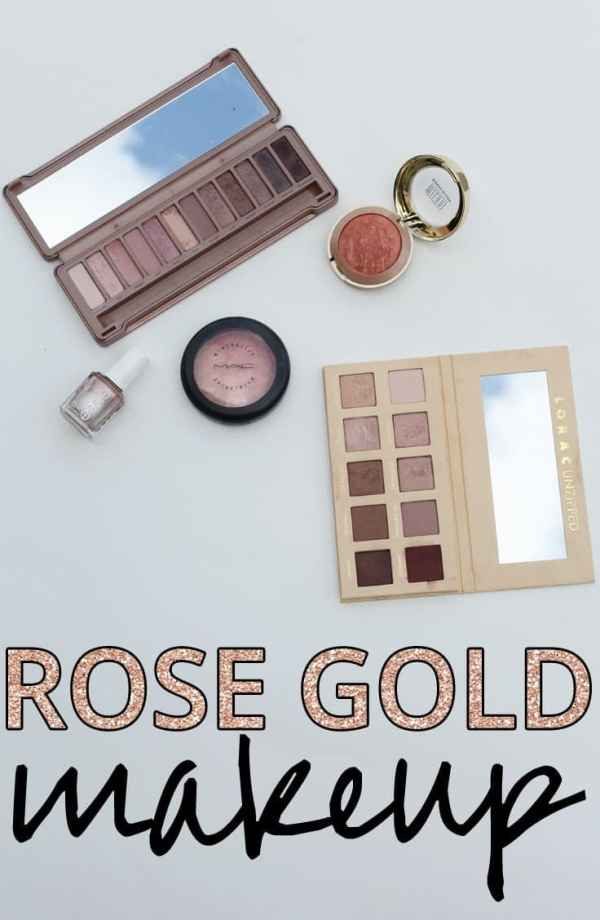 Rose Gold Makeup