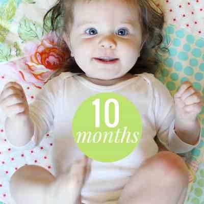 Caroline 10 Months
