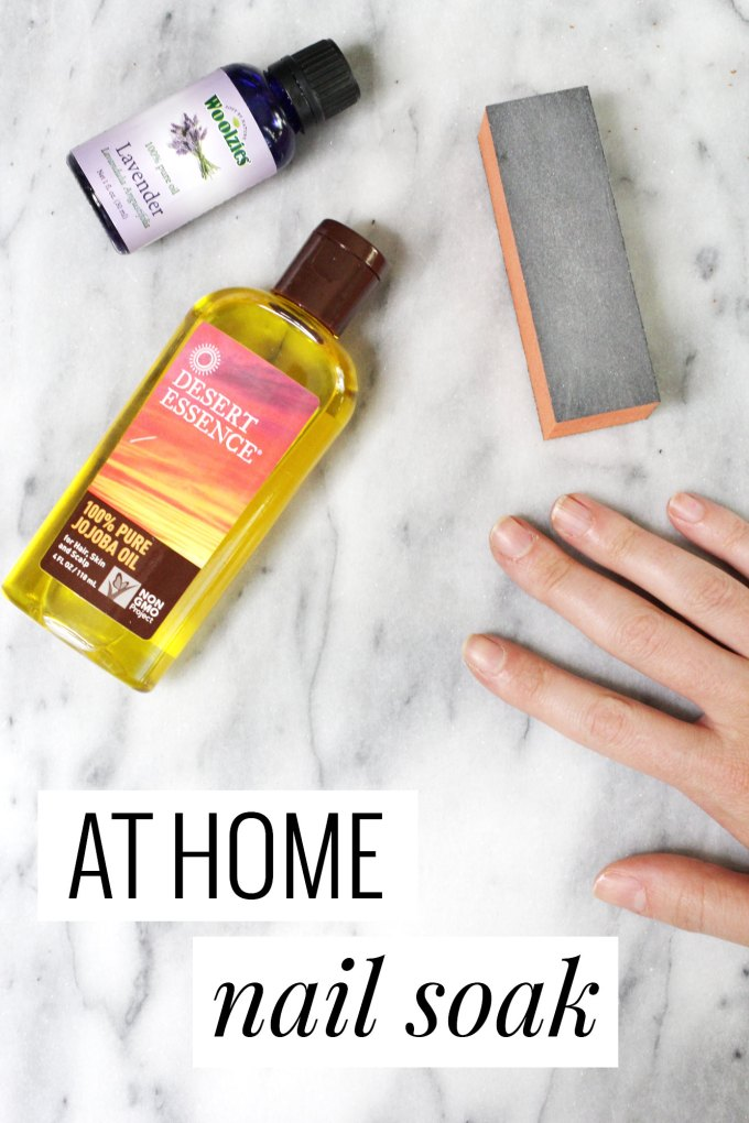 At Home Nail Soak - easy and great for dry cuticles