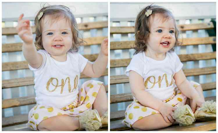 Caroline's First Birthday Photo Shoot