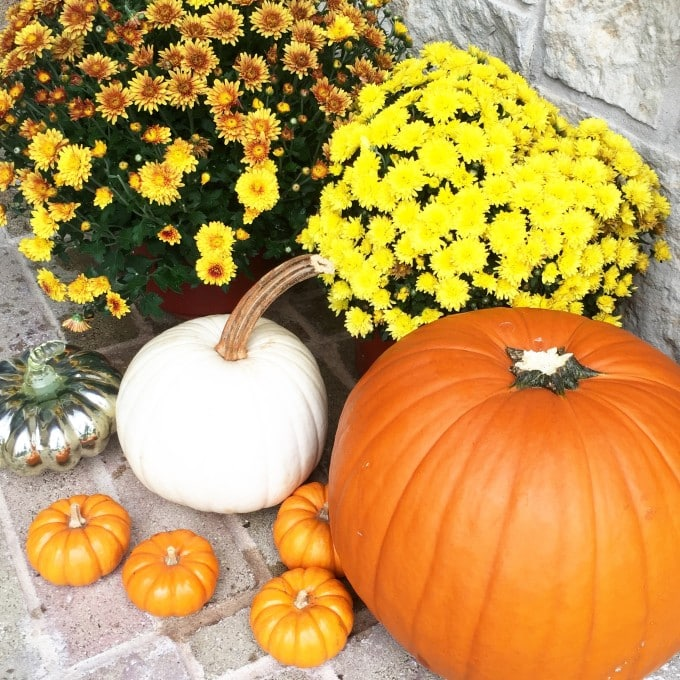 Fall Decorations Front Porch