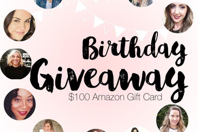 $100 Amazon Gift Card Giveaway!